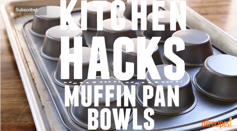 How to use a muffin tin for multiple things