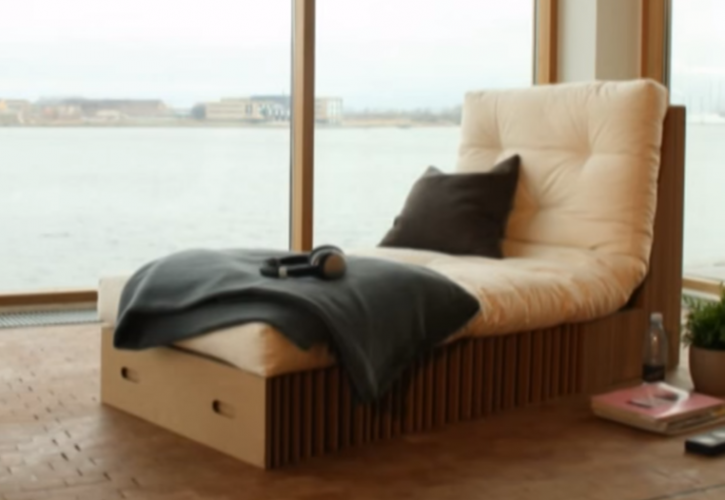 Furniture from cardboard