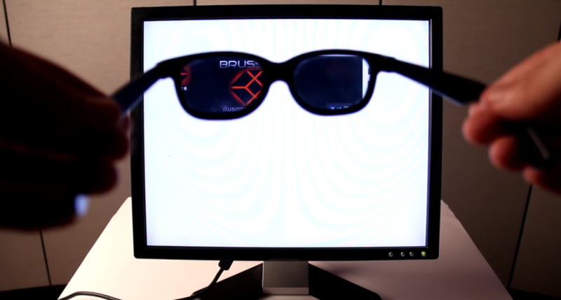 How to make a monitor only you can see