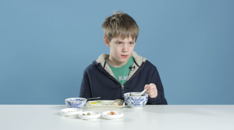 American kids try breakfast from other countries