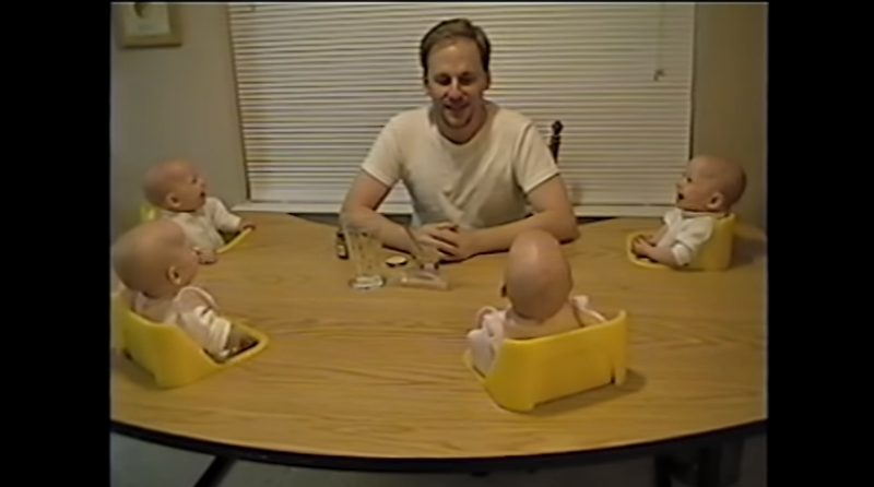 These adorable laughing quadruplets will make you smile so hard!